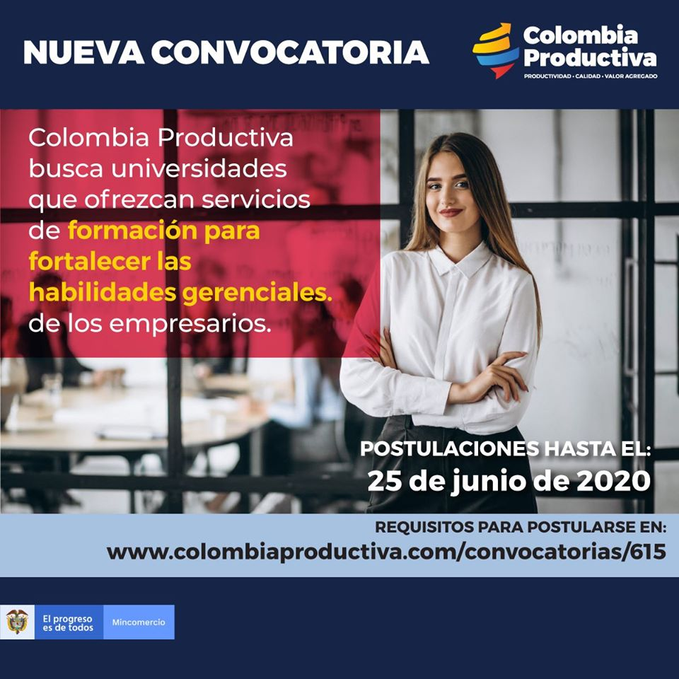 Convocatoria Colombia productiva