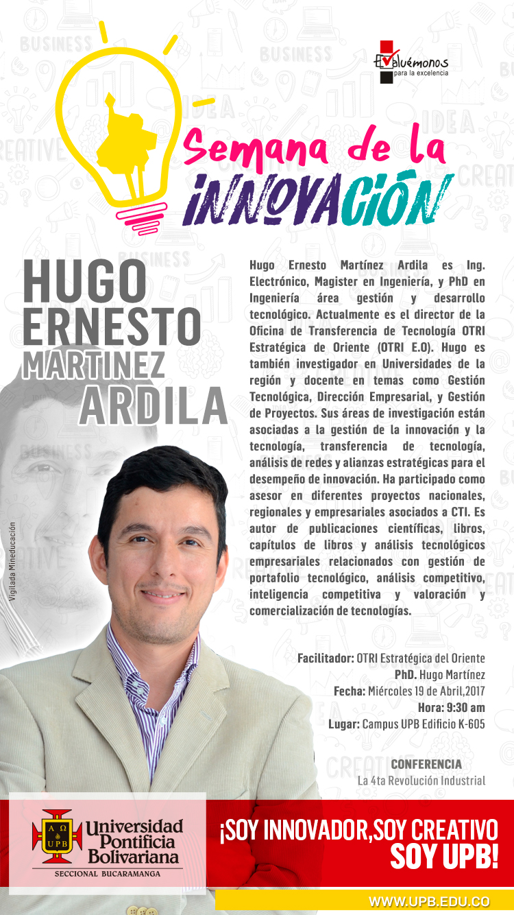 19 ABRIL HUGO MARTINEZ UPB