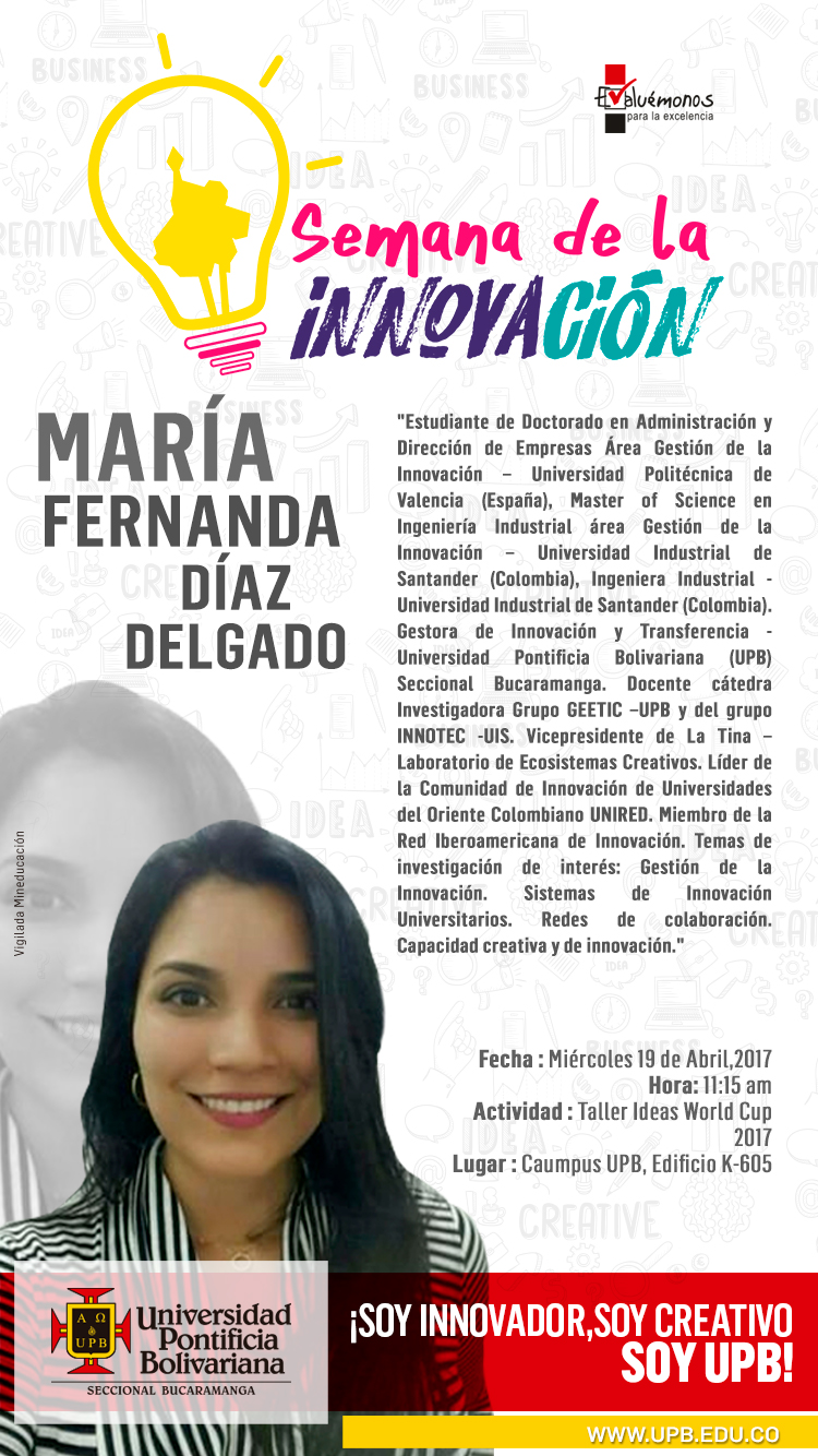 19 ABRIL MARIA DIAZ UPB INST