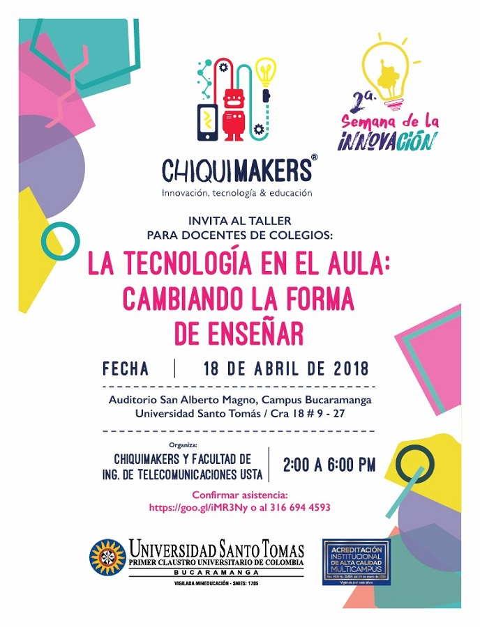 18 abril SIS2018 CHIQUIMAKERS USTA